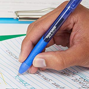 <b> Comfort Grip  </b></br>  A textured ergonomic grip wraps the entire pen for the perfect blend of comfort and style.