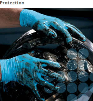For industrial and commercial tasks, Kleenguard G10 Blue Nitrile Gloves are a reliable choice. They are 6 mil and come in a variety of sizes so that your staff will have what they need to do their jobs.